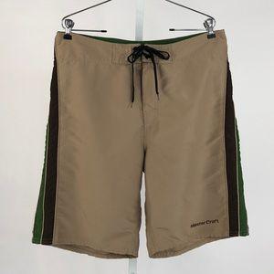 Ron Jon Surf Shop Tan Board Shorts
